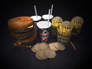 Junk food meets people