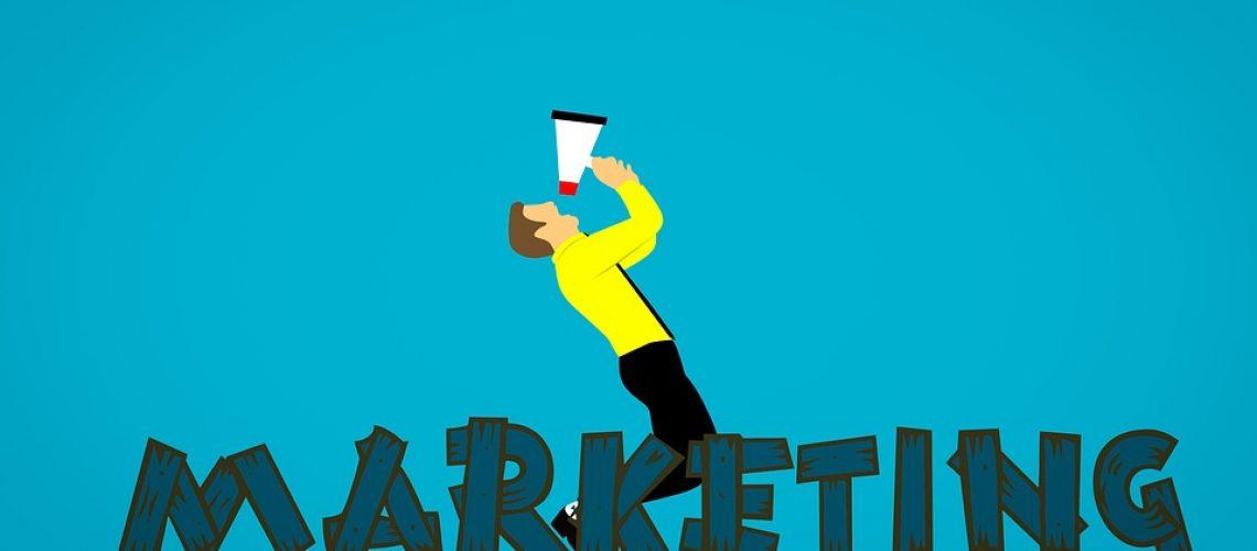 Megaphone Business Marketing Social Media Market